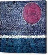 Eclipse Original Painting Canvas Print