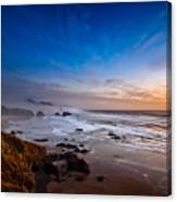 Ecola State Park At Sunset Canvas Print