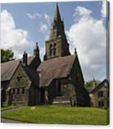 Edale Village Church Canvas Print
