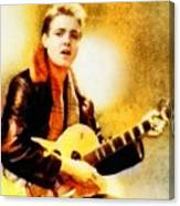 Eddie Cochran, Music Legend By John Springfield Canvas Print