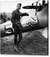 Eddie Rickenbacker - Ww1 American Air Ace Canvas Print