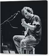 Eddie Vedder Playing Live Canvas Print