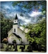 Eden Church Canvas Print