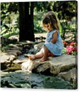 90140 Eden Joy Srf Garden Canvas Print