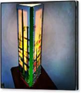Eden Lamp Canvas Print