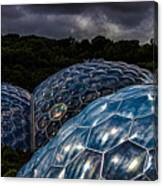 Eden Project Cornwall Canvas Print