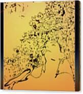 Eden Sun Canvas Print