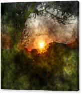 Edens Sunrise Canvas Print