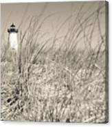 Edgartown Harbor Light Canvas Print