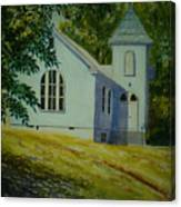 Edgemont Baptist Church Canvas Print