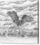 Edgerton School Canvas Print