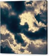Edgewater Skies Canvas Print