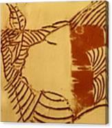 Edify - Tile Canvas Print