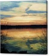 Edinboro Lake Nocturne No.3 Canvas Print