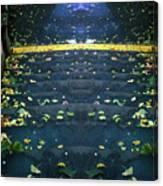 Edinburgh - Stairs Ghost Canvas Print