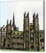 Edinburgh Architecture 3 Canvas Print