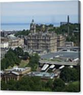 Edinburgh Castle View #3 Canvas Print