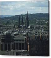 Edinburgh Castle View #9 Canvas Print