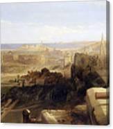 Edinburgh From The Castle Canvas Print