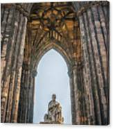 Edinburgh Sir Walter Scott Monument Canvas Print