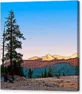 Edison Sunset Canvas Print