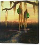 Edisto Island Glass Floats Canvas Print