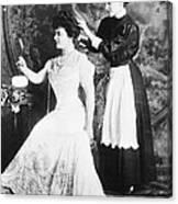 Edith M. Kingdon (1864-1921) Canvas Print