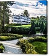 Edith Wharton Mansion Canvas Print