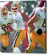 Edmonton Eskimos Football - Blake Marshall - 1988 Canvas Print