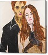 Edward And Bella Canvas Print