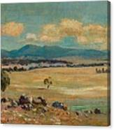 Edward Cairns Officer 1871-1921 Landscape Canvas Print