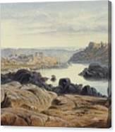 Edward Lear 1812 - 1888 British Philae Canvas Print