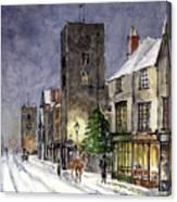 Edwardian Oxford Canvas Print