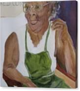 Edweena Canvas Print