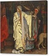 Edwin Austin Abbey 1852-1911 King Lear, Cordelias Farewell Canvas Print