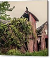 Eerie Barn Canvas Print