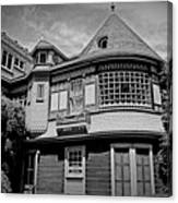 Eerie Winchester House  Canvas Print