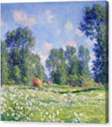 Effect Of Spring At Giverny Canvas Print