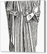 Effigy Of King John On His Tomb In Canvas Print