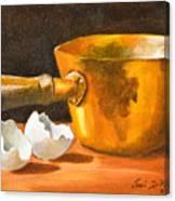 Eggshell Canvas Print