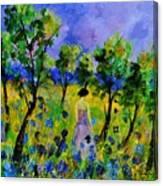 Eglantine's Summer Walk Canvas Print
