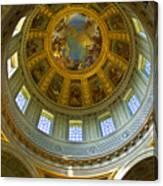 Eglise Du Dome Church Paris Canvas Print