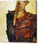 Egon Schiele (1890-1918) Canvas Print
