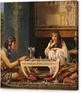 Egyptian Chess Players Canvas Print
