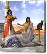 Egyptian Cleopatra Canvas Print