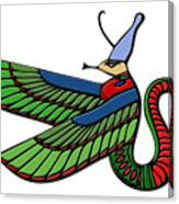Egyptian Demon Canvas Print