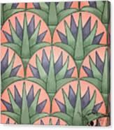 Egyptian Floral Canvas Print