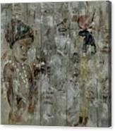 Egyptian Memories  Canvas Print
