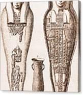 Egyptian Mummy, Illustration Canvas Print