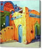 Egyptian Nubian House Canvas Print